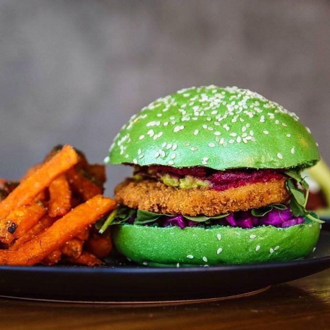 Matcha Burger